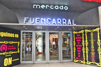 Fachada Mercado Fuencarral Madrid