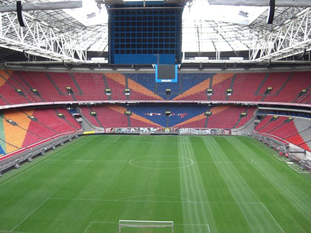 Panorámica gradas Amsterdam Arena