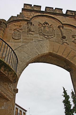 Arco de Villalar y la Puerta de Jaén Baeza