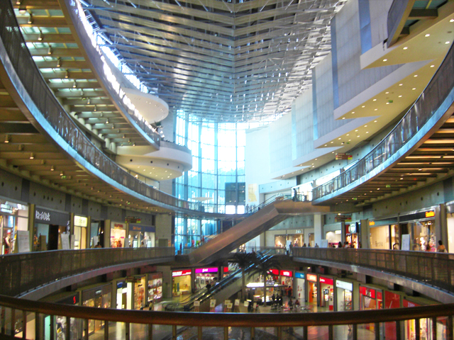 Centro Comercial Alameda shopping Do Dragao Oporto