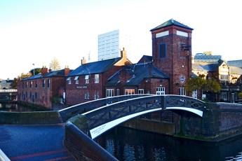 Canales navegables puente Birmingham