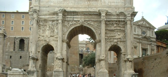 Arco Constantino Foro romano Roma