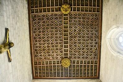 Artesonado detalles filigranas simetría Catedral Valladolid