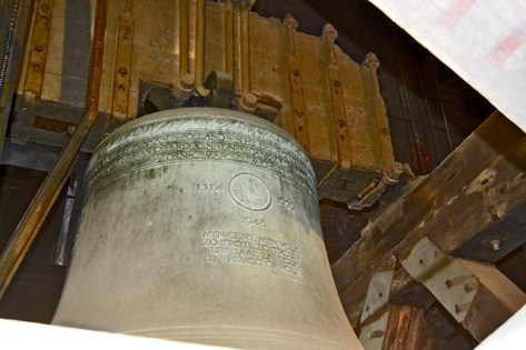 Campana torre Belfort Gante
