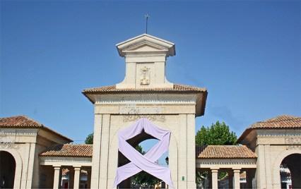 Portada principal recinto Feria Albacete