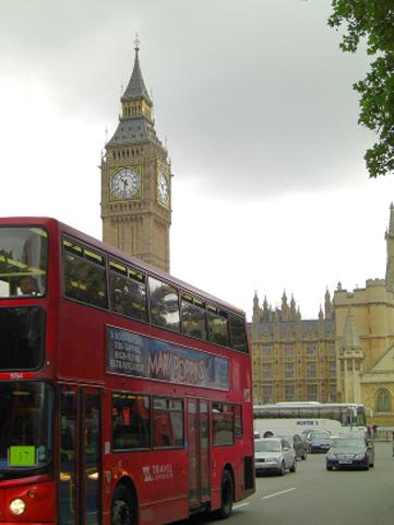 Autobús rojo Big Ben Londres