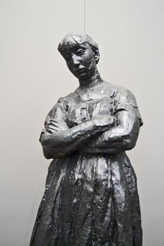 Escultura Rik Wouters Museo Real de Bellas Artes Bruselas