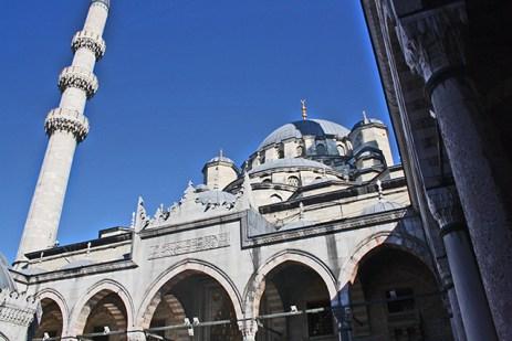 7 cúpulas Mezquita Azul Estambul