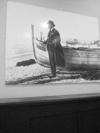 Blasco Ibanyez i la seua amada platja de la Malvarrosa