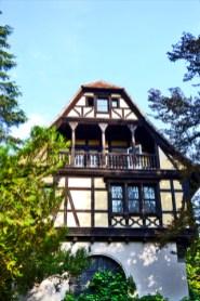 Pisos madera teca vivienda y vegetación Castillo Peles Sinaia Rumanía