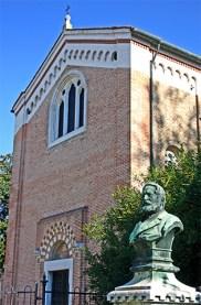 Fachada Cappella degli Scrovegni frescos Giotto Padua