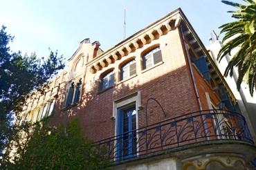 Fachada Casa Rull Lluís Domenech i Montaner Modernismo Reus Tarragona