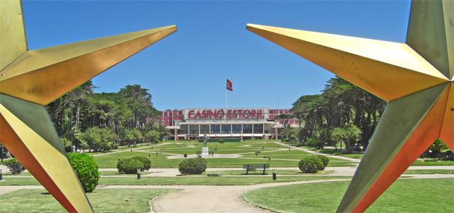 Estrellas entrada Casino Estoril