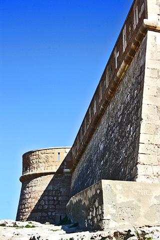 Murallas Castillo de San Felipe Los Escullos Almería