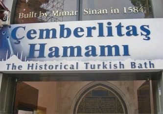 Hammam Cemberlitas baños turcos Estambul