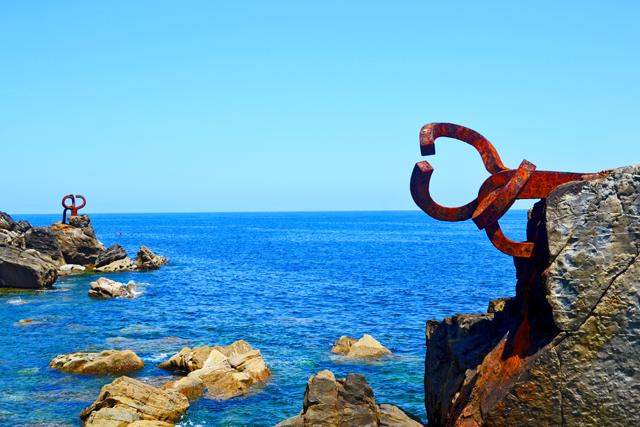 Peine de los Vientos Eduardo Chillida San Sebastián Donosti