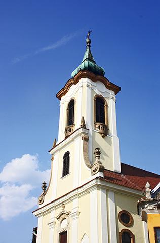 Iglesia Serbia barroca Szentendre