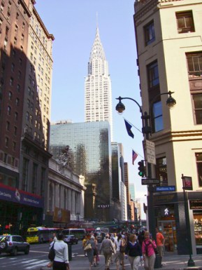 Chrysler Building and Grand Central Terminal