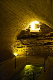 Interior iluminación Sinagoga Agua Úbeda Jaén
