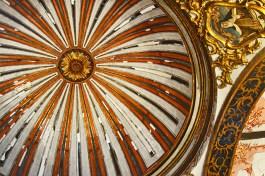 Cúpula decoración interior Basílica Caravaca de la Cruz Murcia