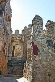 Puerta poniente murallas Castillo Almansa