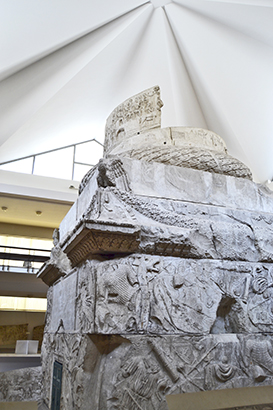 Columna de Trajano Museo de Historia Nacional de Rumanía Bucarest