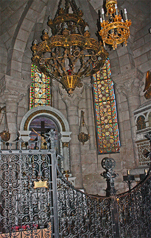 Cripta romanica junto a La Almudena