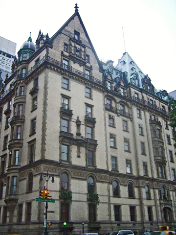 Apartamentos Dakota Central Park Nueva York