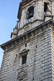 Torre campanario reloj Catedral Asunción Jaén