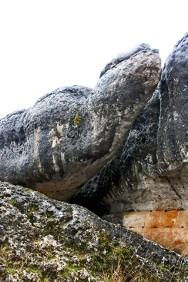 Roca forma reptil Ciudad Encantada Cuenca