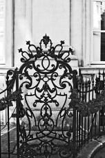 Decoración Art Nouveau hierro forjado Amberes