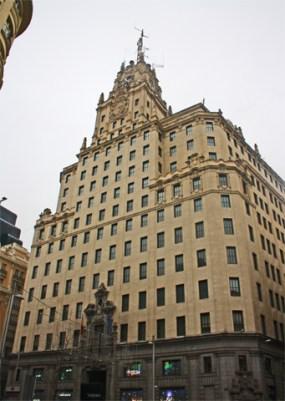 Edificio Telefonica en plena Gran Via