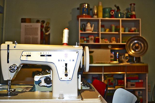 Máquina coser museo Gante