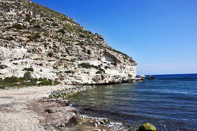 Vistas Cerro de La Lomilla Agua Amarga Cabo de Gata Almería