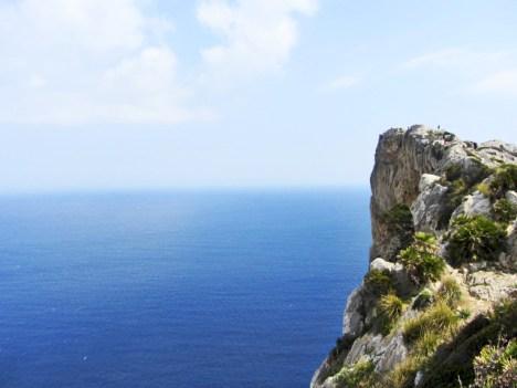 Vistas mar Mirador Mal Pas Cabo Formentor Mallorca