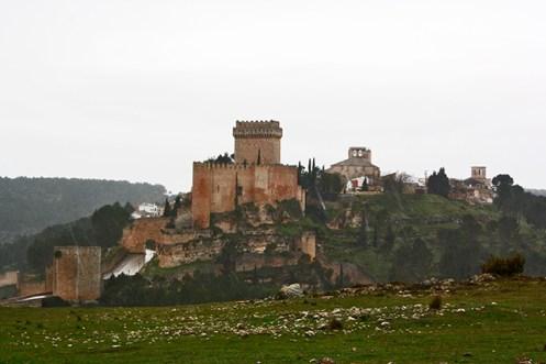 Panorámica ciudad Parador Nacional Alarcón montes Cuenca
