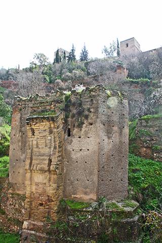 Restos arqueológicos Paseo de los triestes Granada