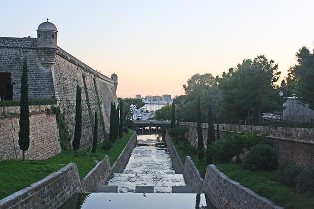 Es Baluard Museo Arte Contemporáneo mar Palma Mallorca