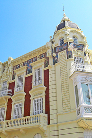 Casa Aguirre modernismo plaza Merced Cartagena