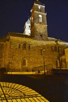 Iluminación Convento de la Victoria en Jaén