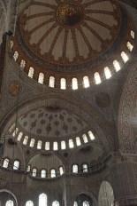 Cúpula mosaico decoración Sultan Ahmet Camii Estambul