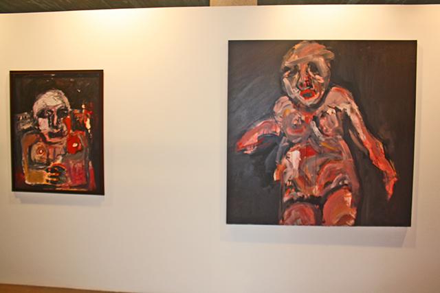 Exposicion de la pintora Inma Salazar en el Museo Hidraulico de los Molinos del Rio