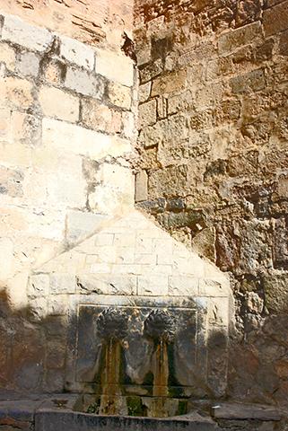 Font del Sabater piedra centro histórico Onda Castellón