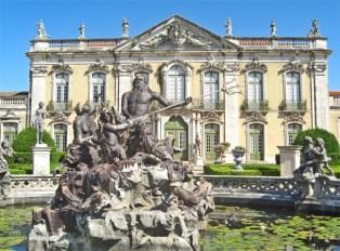 Fuente Neptuno Palacio de Queluz Portugal