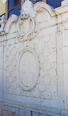 Fuente agua centro histórico Setúbal