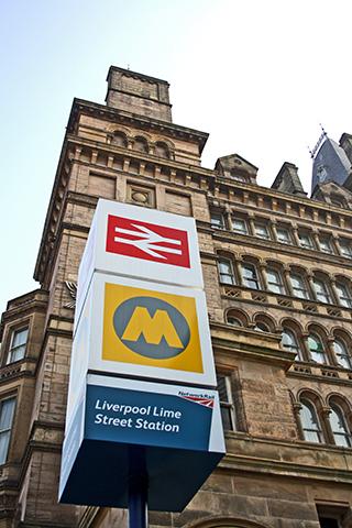 Señal Liverpool Lime Street Station