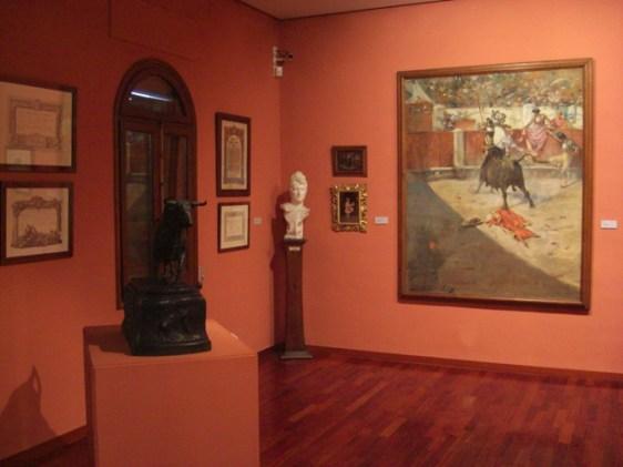 Galeria dart i escultures en la Casa-Museu Benlliure