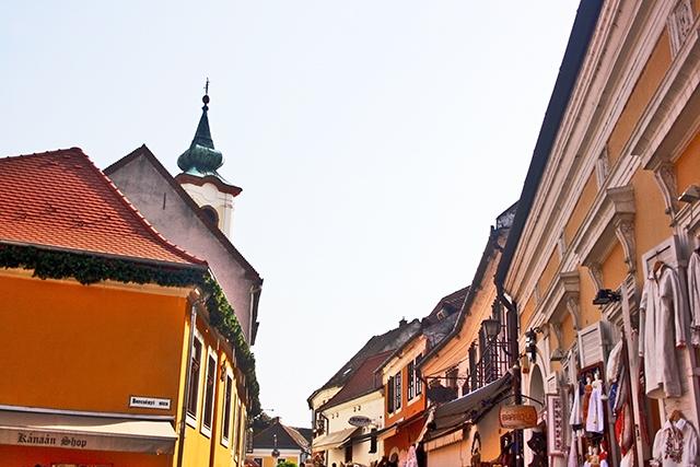 Casas barrocas centro histórico Szentendre blog Juanjook
