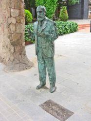 Gaudi presidint la Finca Miralles a Pedralbes