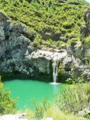 Cascada Barranco Encanta Vall Gallinera Sierra Alicante